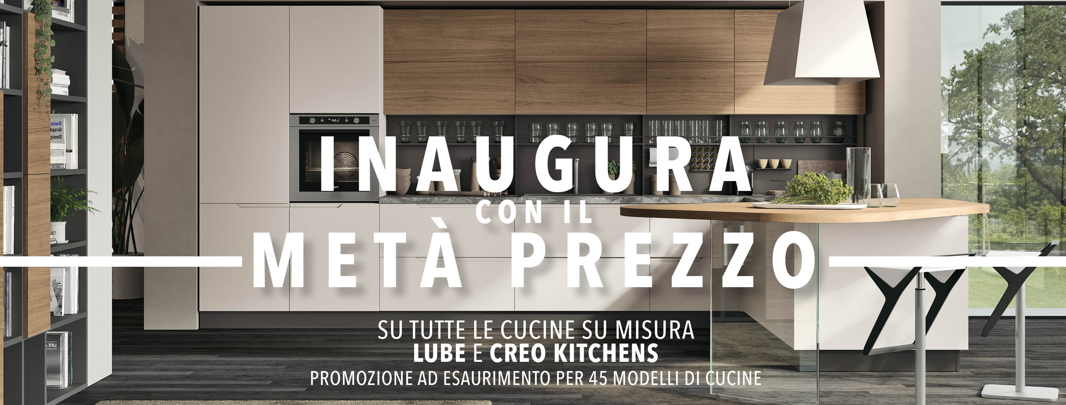 Lube cucine verona great new sales outlet for the cucine lube and creo kitchens brand in verona - Lube cucine conegliano ...